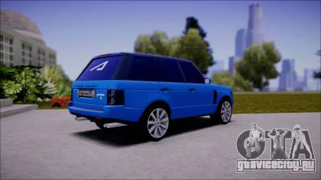 Land Rover Range Rover III (Pontorezka) для GTA San Andreas вид сзади слева