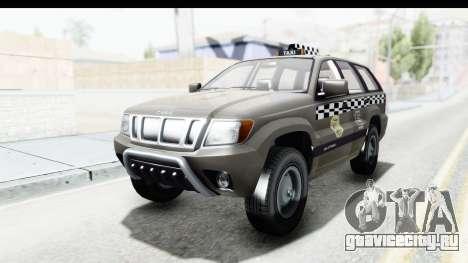 GTA 5 Canis Seminole Taxi Saints Row 4 Retro для GTA San Andreas вид сзади слева