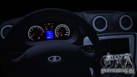 Lada 2190 (Granta) Sport для GTA San Andreas вид справа