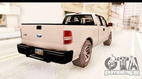 Ford F-150 4x4 2008 для GTA San Andreas вид слева