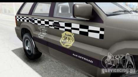 GTA 5 Canis Seminole Taxi Saints Row 4 Retro для GTA San Andreas вид изнутри
