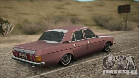 ГАЗ 3102 ранний для GTA San Andreas вид слева