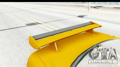 NFSU Eddie Nissan Skyline для GTA San Andreas вид изнутри