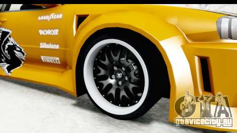NFSU Eddie Nissan Skyline для GTA San Andreas вид сзади