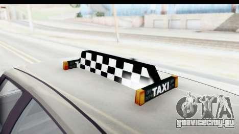 GTA 5 Canis Seminole Taxi Saints Row 4 Retro для GTA San Andreas вид сбоку