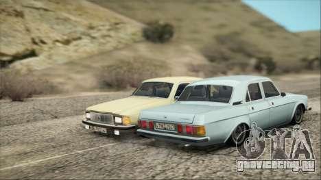 ГАЗ 3102 ранний для GTA San Andreas вид сзади слева