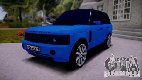 Land Rover Range Rover III (Pontorezka) для GTA San Andreas