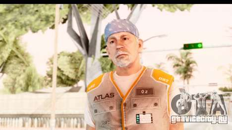 COD AW - John Malkovich Janitor для GTA San Andreas