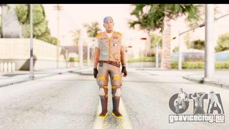 COD AW - John Malkovich Janitor для GTA San Andreas второй скриншот