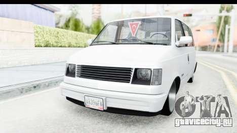 Chevrolet Astro Stance для GTA San Andreas вид справа