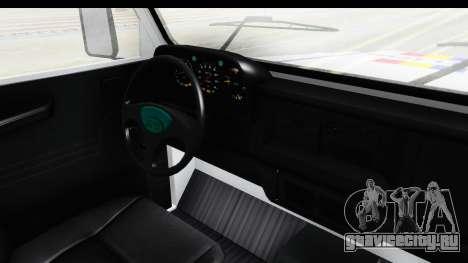 Aro 243 1996 Police для GTA San Andreas вид изнутри