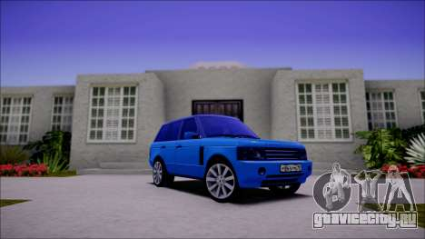 Land Rover Range Rover III (Pontorezka) для GTA San Andreas вид слева