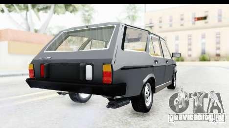 Fiat 131 Panorama для GTA San Andreas вид слева