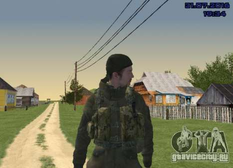 Боец в Горке для GTA San Andreas пятый скриншот