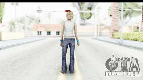Silent Hill 3 - Heather Sporty White Base для GTA San Andreas третий скриншот