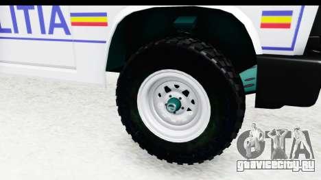 Aro 243 1996 Police для GTA San Andreas вид сзади