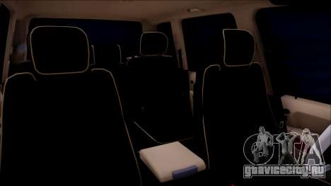 Land Rover Range Rover III (Pontorezka) для GTA San Andreas вид сзади