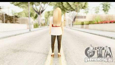 Adele для GTA San Andreas третий скриншот