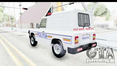 Aro 243 1996 Police для GTA San Andreas вид слева