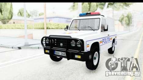 Aro 243 1996 Police для GTA San Andreas вид сзади слева
