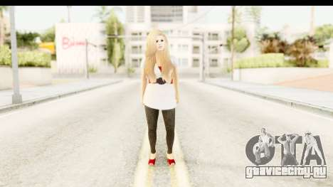 Adele для GTA San Andreas второй скриншот