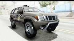 GTA 5 Canis Seminole Taxi Saints Row 4 Retro для GTA San Andreas