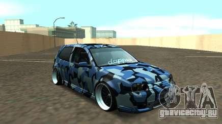 Гольф-Стойка Фольксваген МК4 Р32 для GTA San Andreas