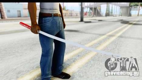 Katana from GTA Advance для GTA San Andreas