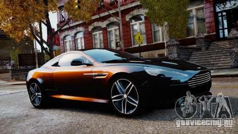 Aston Martin DB9 2013 для GTA 4