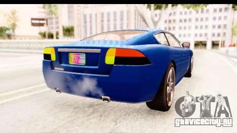 GTA EFLC TBoGT F620 v2 для GTA San Andreas вид слева
