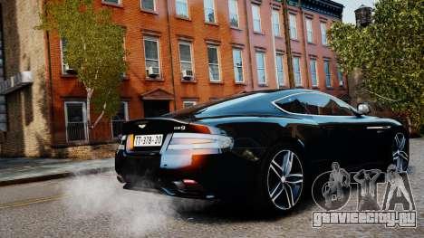 Aston Martin DB9 2013 для GTA 4 вид слева