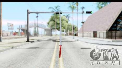 Katana from GTA Advance для GTA San Andreas второй скриншот