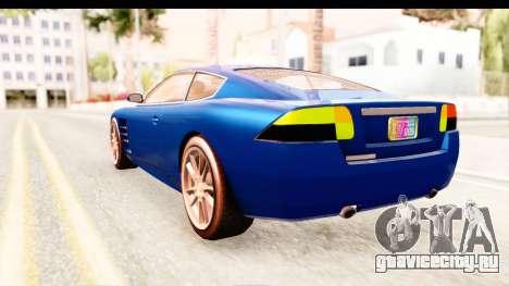 GTA EFLC TBoGT F620 v2 для GTA San Andreas вид справа