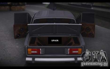 ВАЗ 2106 Авто Звук для GTA San Andreas вид слева