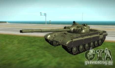 Т-72 Модифицированный для GTA San Andreas вид справа