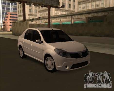Dacia Logan Londero Misterios Urechiata для GTA San Andreas