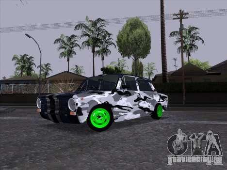 ВАЗ 2101 Гоночный Болид 2 для GTA San Andreas вид сзади