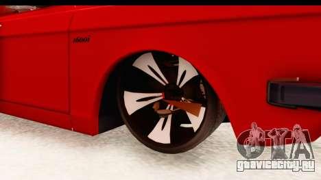Peykan Pickup Full Sport Iranian для GTA San Andreas вид сзади