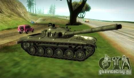 Т-72 Модифицированный для GTA San Andreas вид сзади слева