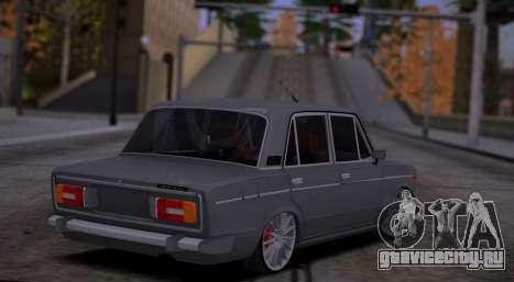 ВАЗ 2106 Авто Звук для GTA San Andreas вид справа