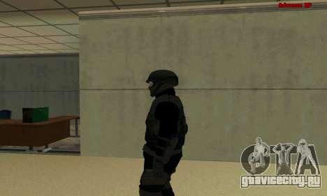 Скин FIB SWAT из GTA 5 для GTA San Andreas второй скриншот