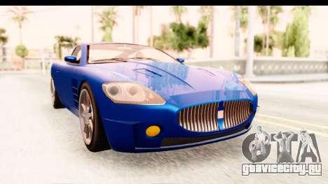 GTA EFLC TBoGT F620 v2 для GTA San Andreas вид сзади слева