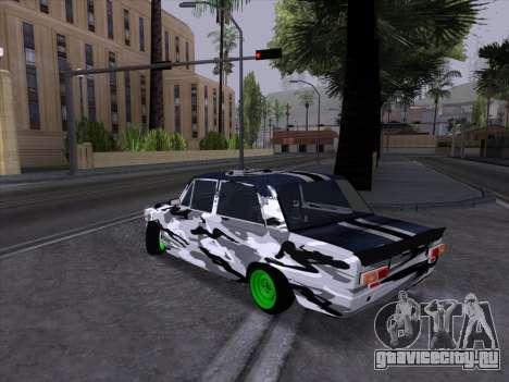 ВАЗ 2101 Гоночный Болид 2 для GTA San Andreas вид сзади слева