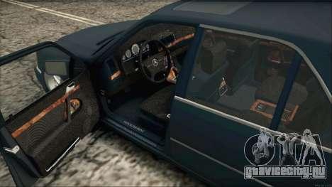 Mercedes-Benz s600 AMG для GTA San Andreas вид сзади слева