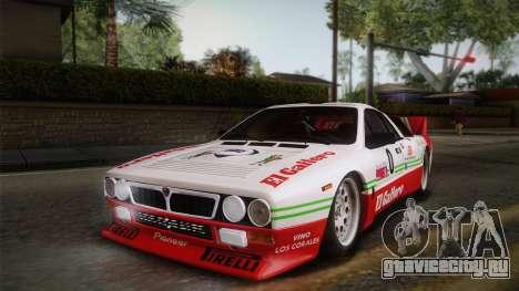 Lancia Rally 037 Stradale (SE037) 1982 Dirt PJ1 для GTA San Andreas вид справа