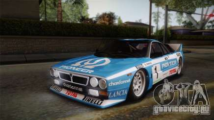 Lancia Rally 037 Stradale (SE037) 1982 Dirt PJ1 для GTA San Andreas