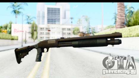 Tactical Mossberg 590A1 Black v4 для GTA San Andreas второй скриншот