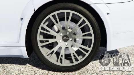 BMW 760Li (F02) Lumma CLR 750 [replace] для GTA 5 вид сзади справа