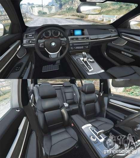 BMW 760Li (F02) Lumma CLR 750 [replace] для GTA 5 вид спереди справа