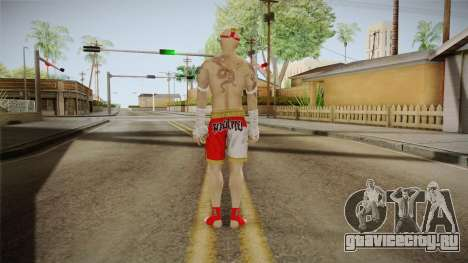 Sleeping Dogs - Wei Shen Muay Thai DLC Bald для GTA San Andreas третий скриншот